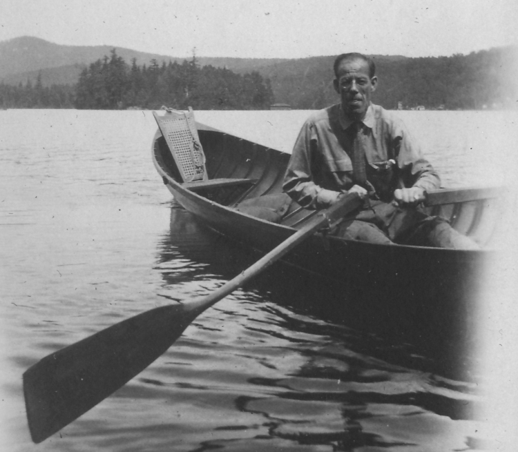 1922 JBT2 in guideboat