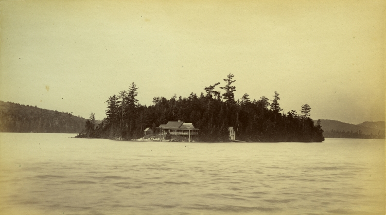 Photo by Seneca Ray Stoddard 1880's    Courtesy of the Adirondack Museum.