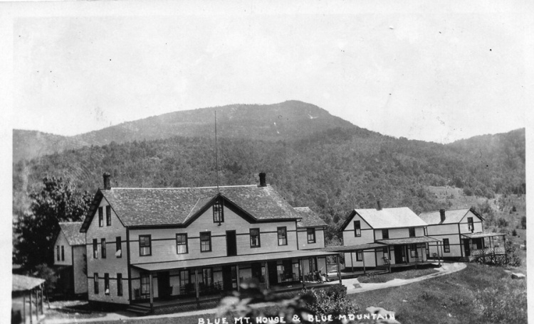 Merwin's expansion of the Blue Mountain House - courtesy of the St. Hubert's Isle website.