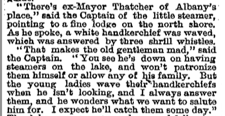 New York Times. July 31, 1881.