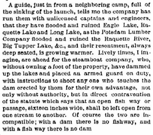 Brooklyn Daily Eagle. August 16, 1885. page 12.