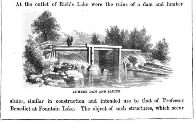 Lossing dam