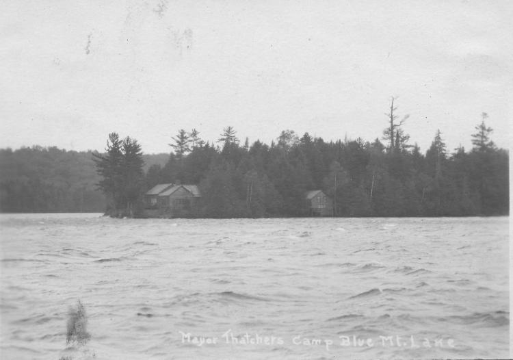 Thacher Isle 1927-1940 AZO Postcard