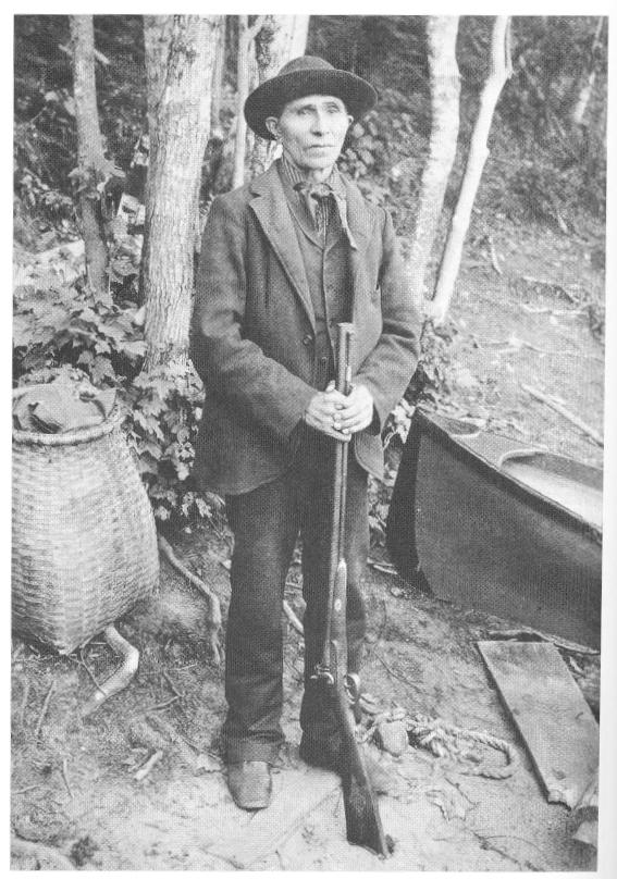Mitchell Sabattis - courtesy of the Adirondack Museum