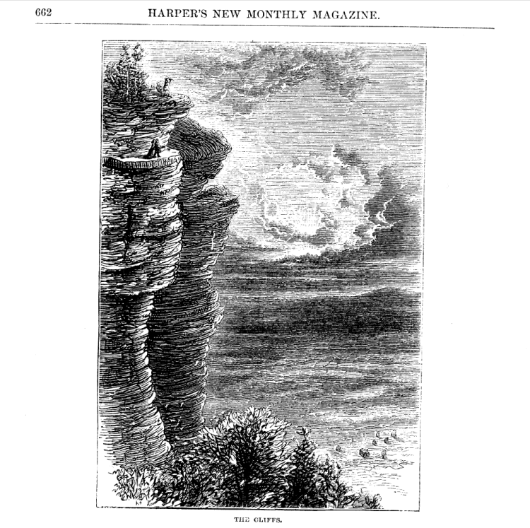 Verplanck Colvin Escarpment Illustration